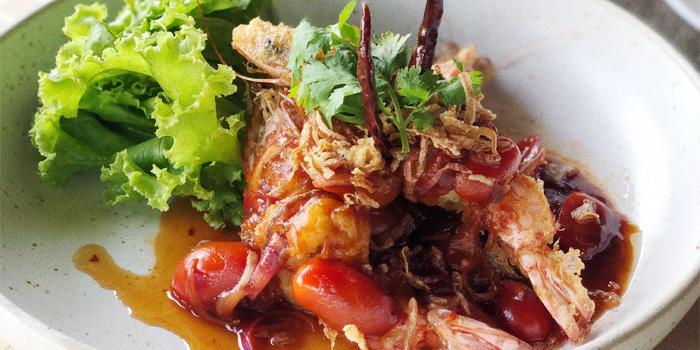 Food from Bambu Restaurant in Chalong, Phuket, Thailand