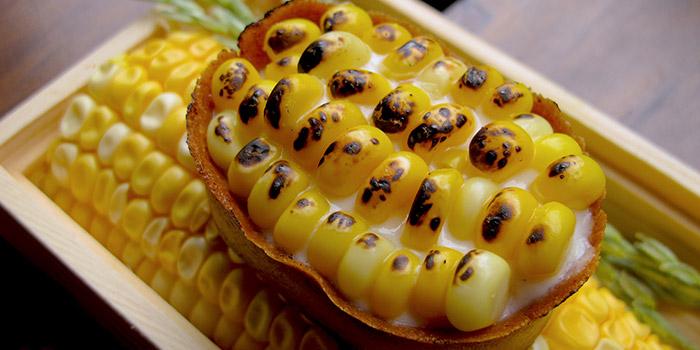 Local Sweet Corn Tart, PMQ Taste Kitchen, Central, Hong Kong