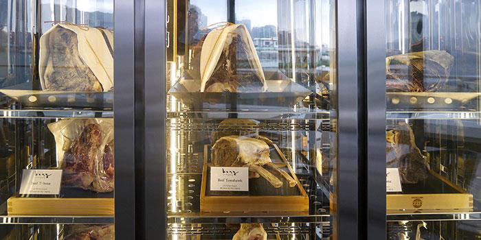 Meat Display, Bong Pro-dry aging steakhouse, Hung Hom, Hong Kong