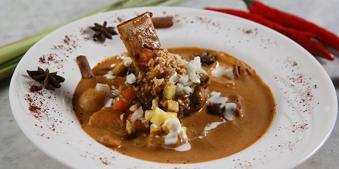 Food from Mezzanine Thai Kitchen, Sanur, Bali