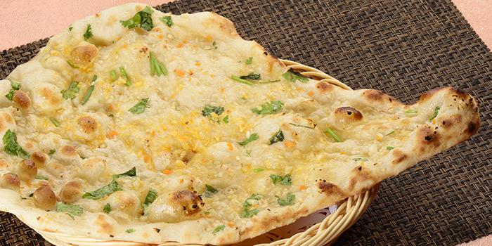 Naan, Curry Leaf Indian Cuisine, Jordan, Hong Kong