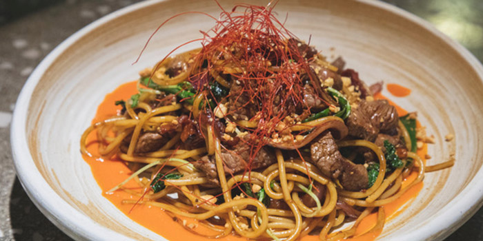 Stir-Fried Beef Spaghetti, Little Creatures, Kennedy Town, Hong Kong