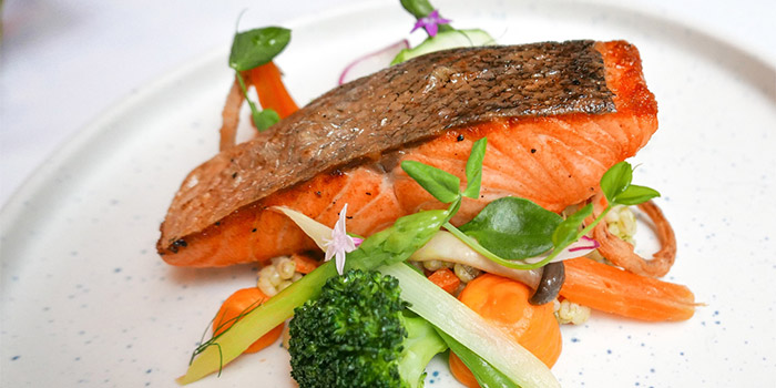 Norwegian Salmon Fillet at Sailendra (JW Marriott)
