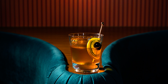 Old Fashioned from Jigger and Pony at Amara Hotel in Tanjong Pagar, Singapore