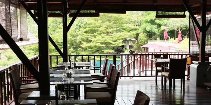 Indoor of Bambu Restaurant in Chalong, Phuket, Thailand