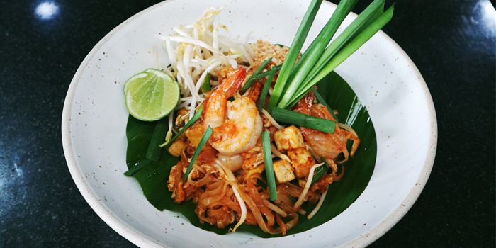 Pad Thai from Bambu Restaurant in Chalong, Phuket, Thailand