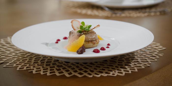 Pan-seared Foie Gras at Orient8, Hotel Mulia Senayan