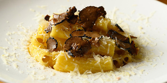 Pasta with Truffle, The Italian Club Wine Bar, Steak House & Pizza Gourmet, SOHO, Hong Kong