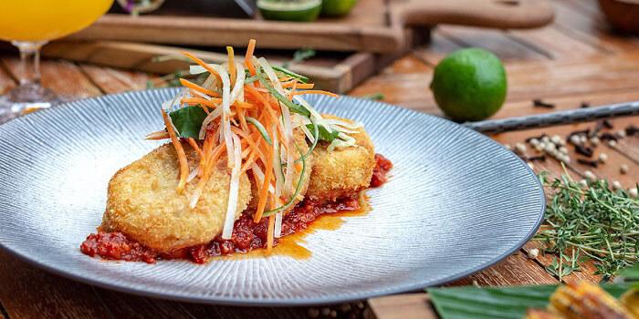 Food from Big Fish Bar and Grill, Kuta, Bali