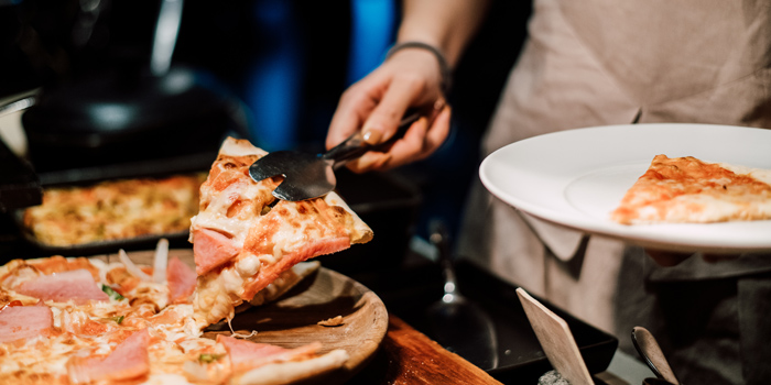 Pizza Dishes from 57th Street at JW Marriott Hotel Sukhumvit 57 Klongtan Nua Wattana Bangkok
