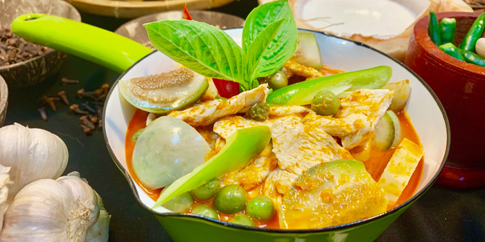 Red Curry from Albricias at Chatrium Residence Sathon, Soi Naradhiwas 24, Bangkok