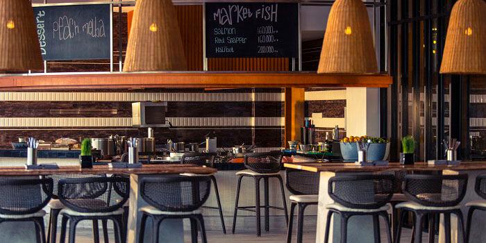 Interior from Big Fish Bar and Grill, Kuta, Bali