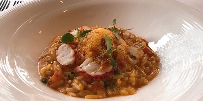 Risotto, Les Saveurs Private Kitchen, Wan Chai, Hong Kong