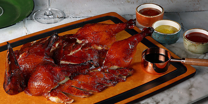 Whole Roast Duck from Duckland at United Square Shopping Mall in Novena, Singapore