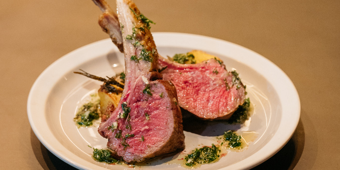 Rosemary Lamb Chops from CarBar at 72 Courtyard, Sukhumvit 55 Thonglor, Bangkok