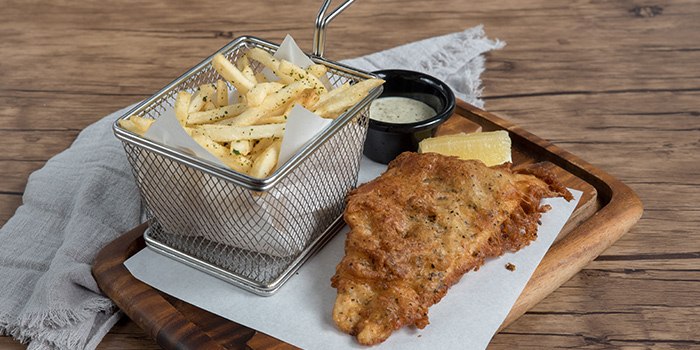 Fish & Chips from 3O1 Bar & Kitchen in Sembawang, Singapore