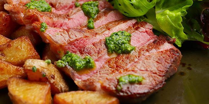 Aus Ribeye Steak from 5 Senses Bistro (Funan Mall) at Funan Mall in City Hall, Singapore