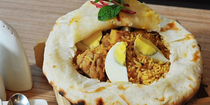 Chicken Dum Biryani from Anglo Indian Cafe & Bar (Chijmes) at Chijmes in City Hall, Singapore