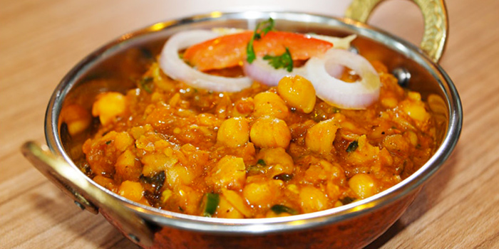 Lahori Chole from Anglo Indian Cafe & Bar (Chijmes) at Chijmes in City Hall, Singapore