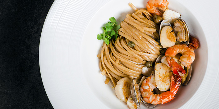Seafood Linguine from Ash & Elm in InterContinental Singapore in Bugis, Singapore