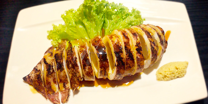Squid from Azmaya Honten (Cuppage Plaza) in Orchard, Singapore