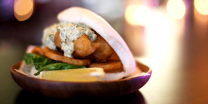 Fish & Chips Bao from Bao Boy in Clarke Quay, Singapore
