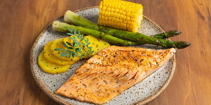 Norwegian Fresh Salmon from Bijan Restaurant at Grandlink Square in Paya Lebar, Singapore