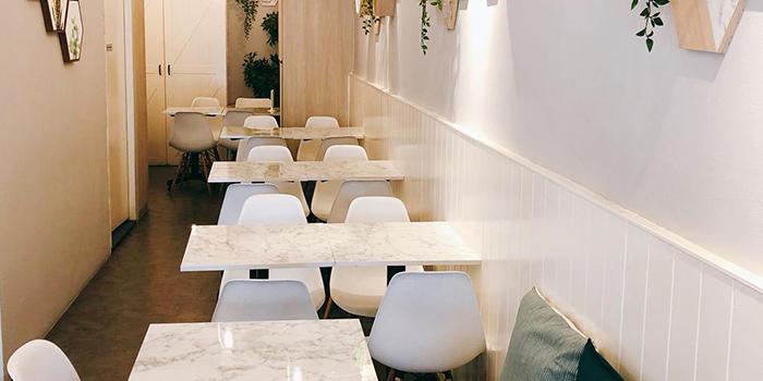 Interior of Carrara Cafe in Bukit Merah, Singapore