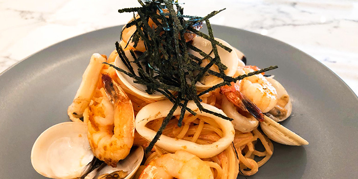 Mentaiko Moriwase Pasta from Carrara Cafe in Bukit Merah, Singapore