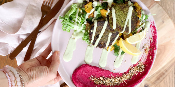 Green Falafel Bowl from Carrotsticks & Cravings (Robertson Quay) in Robertson Quay, Singapore
