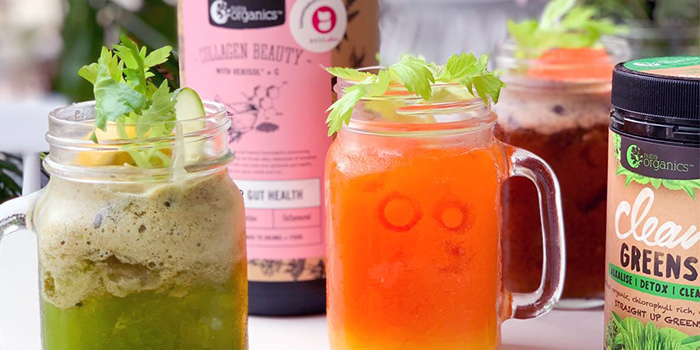 Juices from Carrotsticks & Cravings (Robertson Quay) in Robertson Quay, Singapore