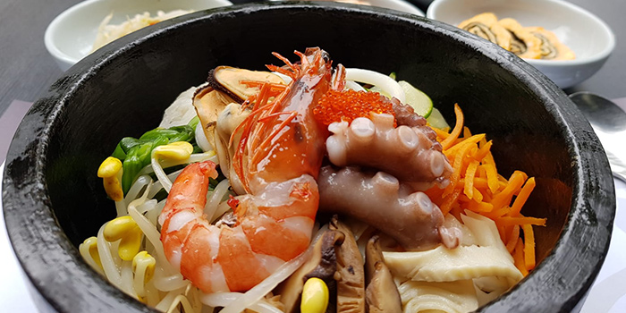 Seafood Bowl from Chang Korean BBQ in Dempsey, Singapore