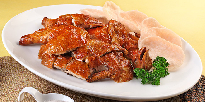 Roasted Chicken from China Classic Restaurant in Chinatown, Singapore