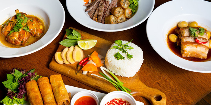 Food Spread from Heart of Darkness in Tanjong Pagar, Singapore