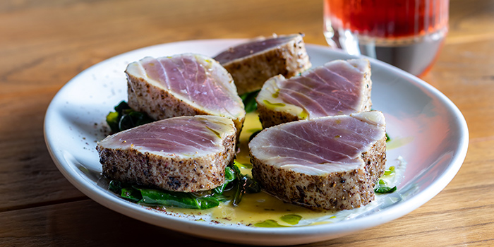 Tuna Steak from Humpback in Chinatown, Singapore