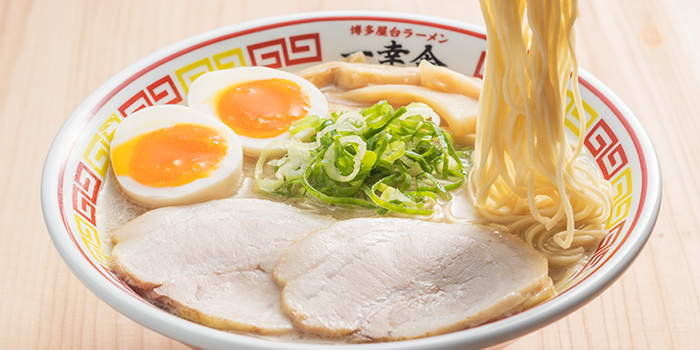 Flavored Egg Tonkotsu Ramen from Japan Gourmet Hall SORA (Changi Airport T1) at Changi Airport in Changi, Singapore