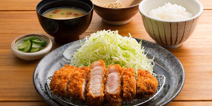 Pork Loin Katsu Set from Japan Gourmet Hall SORA (Changi Airport T1) at Changi Airport in Changi, Singapore