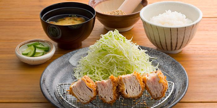 Pork Mill Feuille Katsu Set from Japan Gourmet Hall SORA (Changi Airport T1) at Changi Airport in Changi, Singapore