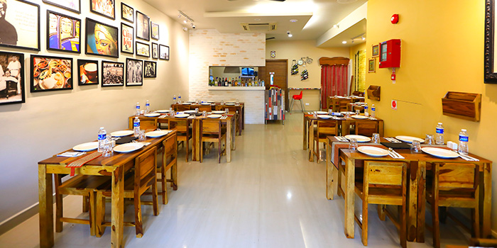 Interior of Kolkata Beckons in Little India, Singapore