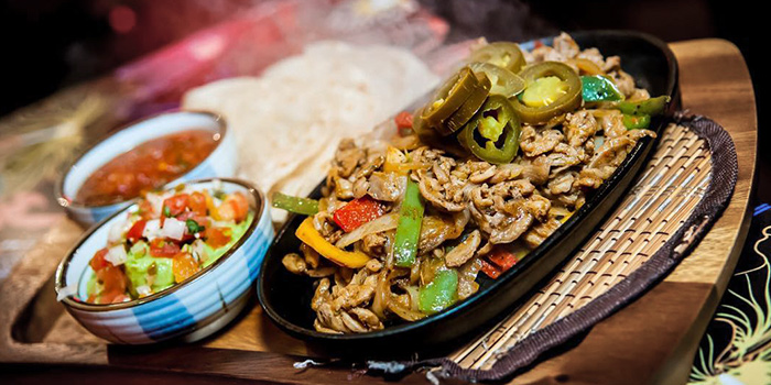 Fajita Fiesta from La Salsa in Dempsey, Singapore