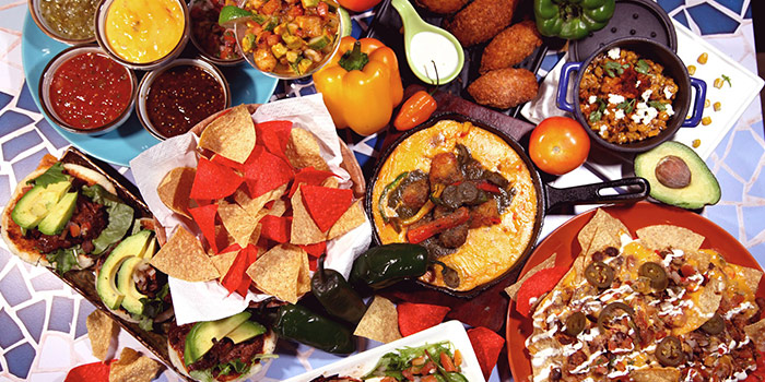 Foodlay from La Salsa in Dempsey, Singapore