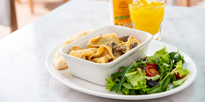 Chicken and Mushroom Papardelle from M&S Café (Wheelock Place) at Wheelock Place in Orchard, Singapore