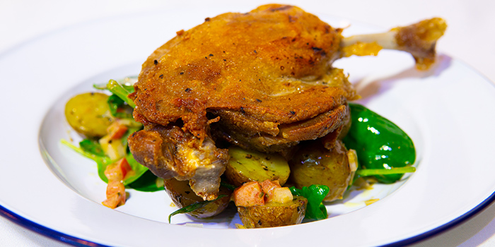 Classic Duck Leg Confit from Meet & Meat - Street Food in East Coast, Singapore