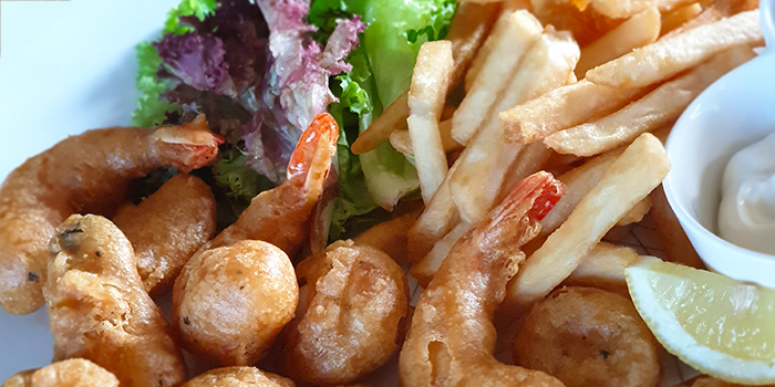 Fried Seafood from Mel