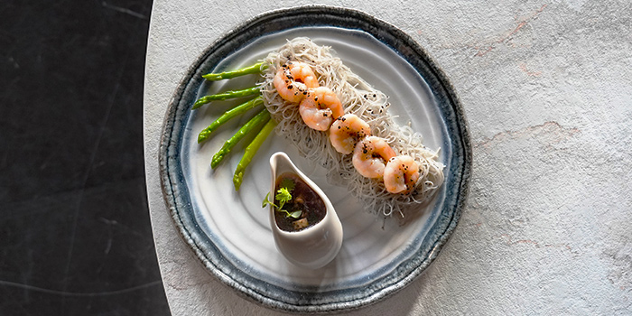 Truffle Prawn Vermicelli from Mimi at The Riverhouse in Clarke Quay, Singapore