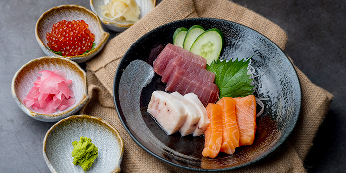 Assorted Sashimi from Monzen@Gardens at myVillage@Serangoon Garden in Serangoon, Singapore