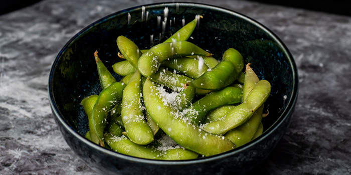 Edamame from Monzen@Gardens at myVillage@Serangoon Garden in Serangoon, Singapore
