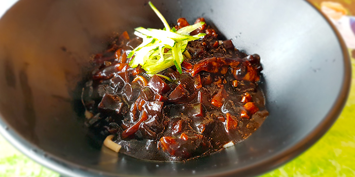 Ja Jiang Myeon from NAYANA Kpop Cafe & Restaurant in Ang Mo Kio, Singapore