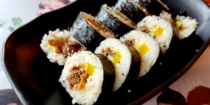 Kimbap from NAYANA Kpop Cafe & Restaurant in Ang Mo Kio, Singapore