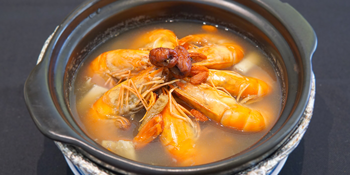 Herbal Prawn Soup from New Ubin Tampines in Tampines, Singapore